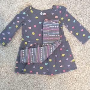 Baby girls polka outfit